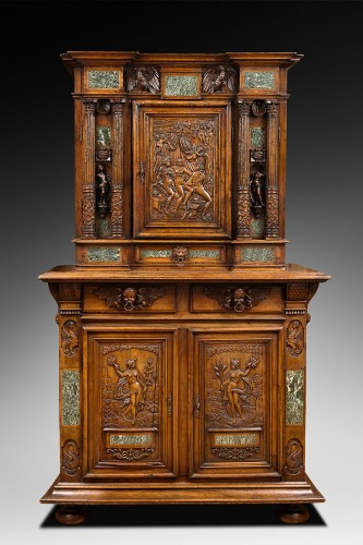 Renaissance Fontainebleau Dresser - Furniture Style Renaissance