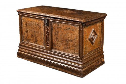 Flamboyant Gothic Cassone chest
