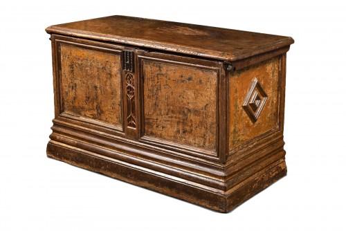 Flamboyant Gothic Cassone chest