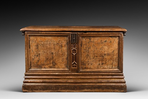 Flamboyant Gothic Cassone chest - Furniture Style