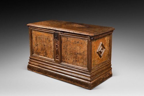 Furniture  - Flamboyant Gothic Cassone chest