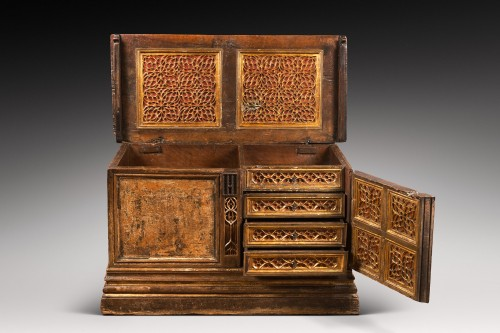 Flamboyant Gothic Cassone chest -
