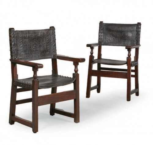 Pair of Spanish chairs