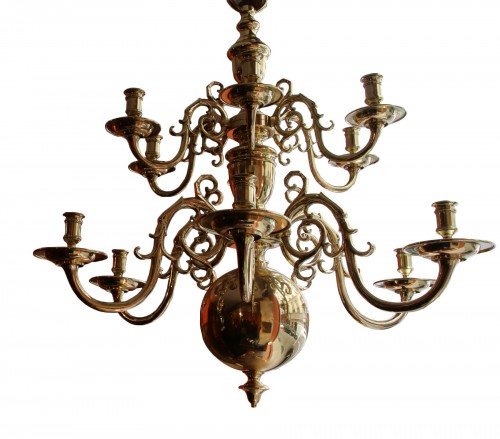 Large19th century  Dutch Chandelier