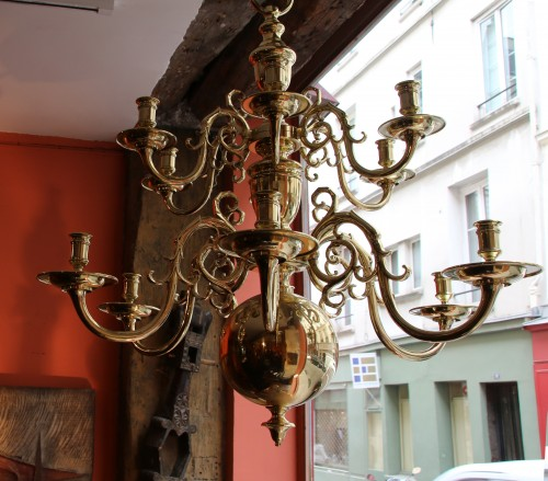Large19th century  Dutch Chandelier - Lighting Style