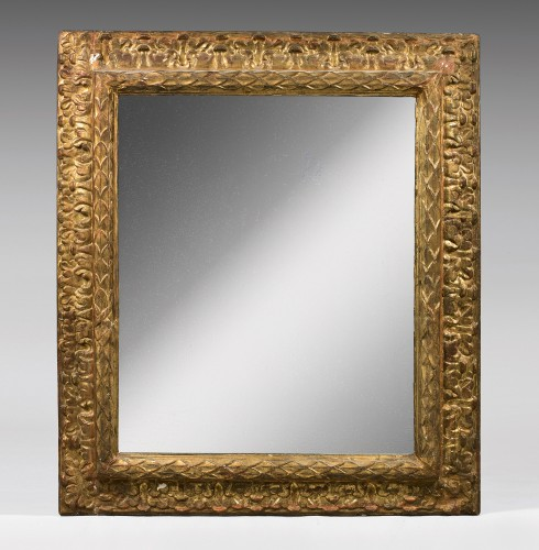 Large carved and gilt wood frame - Decorative Objects Style