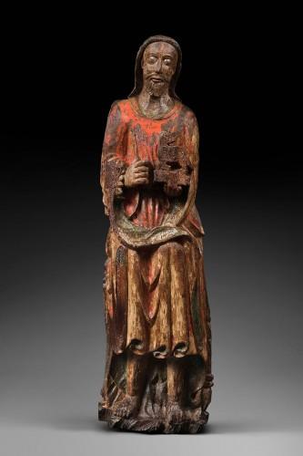 Sculpture  - Wood sculpture of John the Baptist