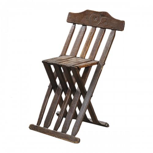 Italian folding chair