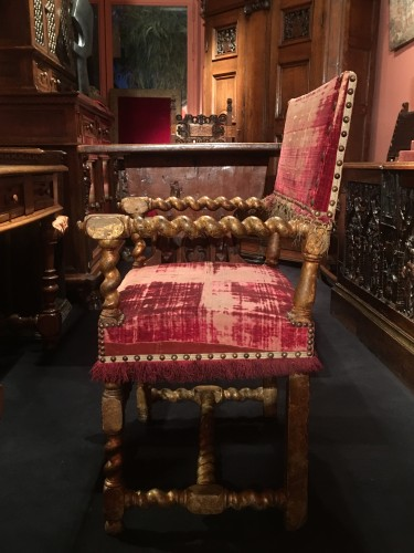 Seating  - Louis XIII gilt wood armchair