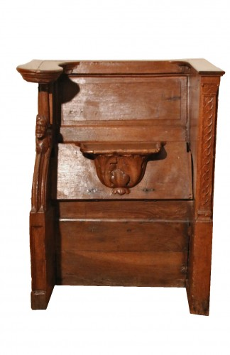Late Gohtic carved church stall