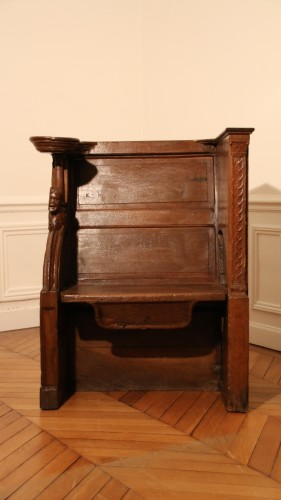 Late Gohtic carved church stall -