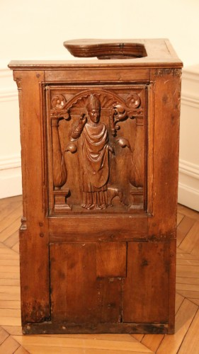 <= 16th century - Late Gohtic carved church stall