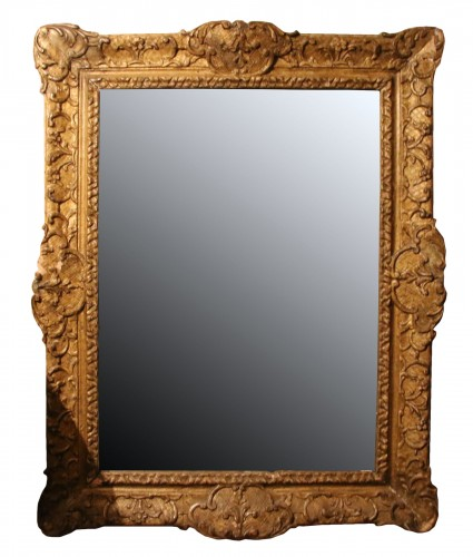 French Regence gilt wood frame