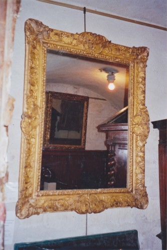 Mirrors, Trumeau  - French Regence gilt wood frame
