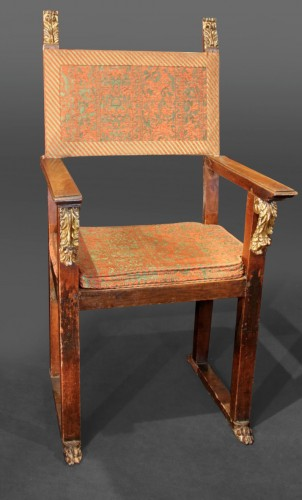 Large armchair with plumage - Seating Style