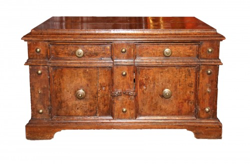 Rare italian lower furniture of Renaissance period