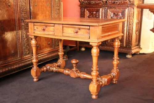 A Louis XIII Table - Furniture Style Louis XIII