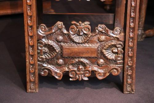 17th century - Pair of italian chairs