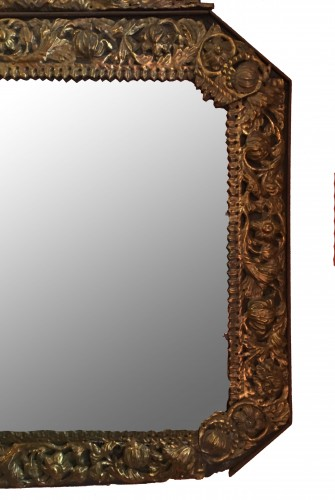 17th century - Louis XIII octogonal mirror