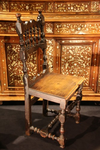 17th century - Italian chair of the 17th century
