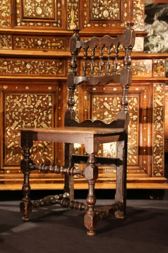 Italian chair of the 17th century -