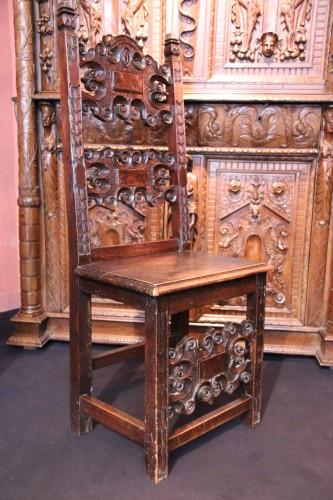 Antiquités - Italian chair