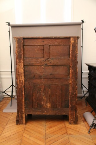 Renaissance Cabinet with a scroll and candelabra decor -