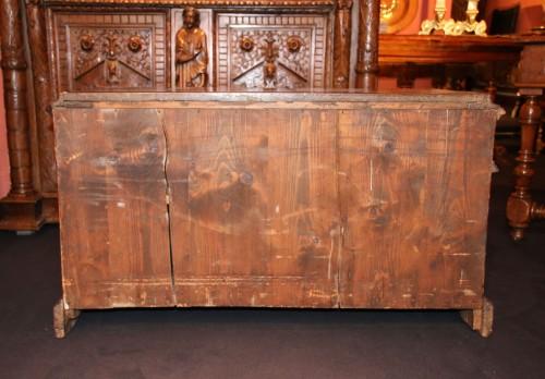 Rare italian lower furniture of Renaissance period -