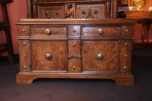 Antiquités - Rare italian lower furniture of Renaissance period