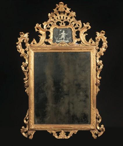 Large Venitian Mirror - Mirrors, Trumeau Style