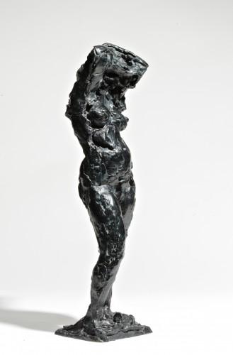 Sculpture  - The Shirt Removed 1959  - Edmond Moirignot  (1913-2002)