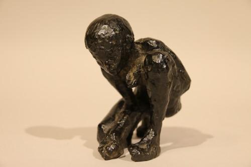 The ball player - Edmond Moirignot  (1913-2002) - Sculpture Style 50