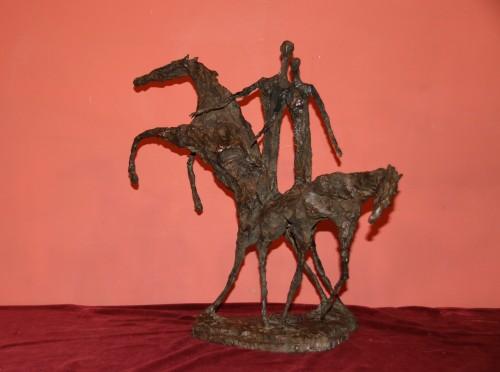 Don Quichotte  - Magdalena Reinharez (1925-2012) - Sculpture Style