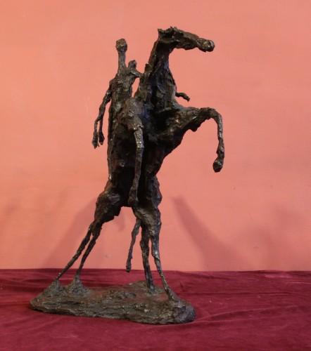 Sculpture  - Don Quichotte  - Magdalena Reinharez (1925-2012)