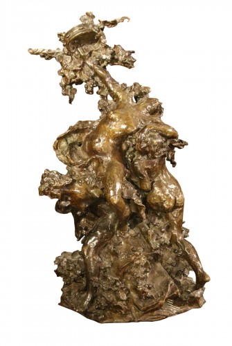 Dance allegory, Lost wax bronze