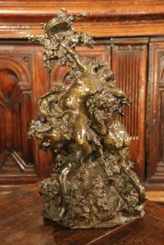 Dance allegory, Lost wax bronze - Sculpture Style