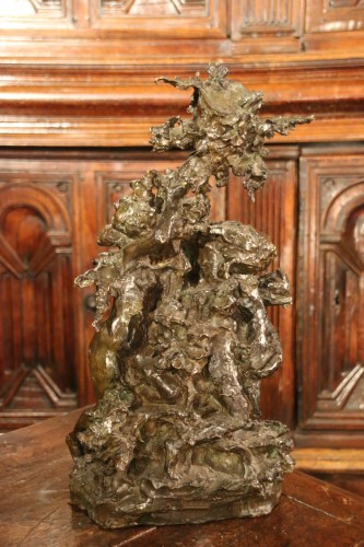 Dance allegory, Lost wax bronze -
