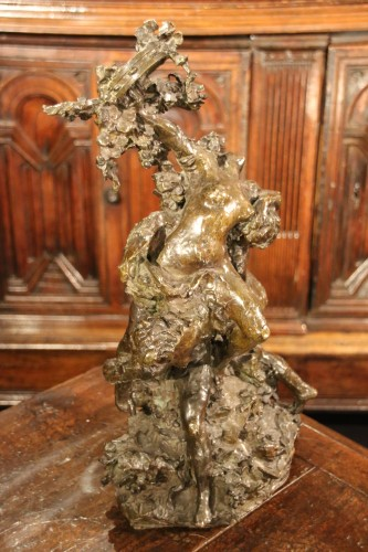 Antiquités - Dance allegory, Lost wax bronze