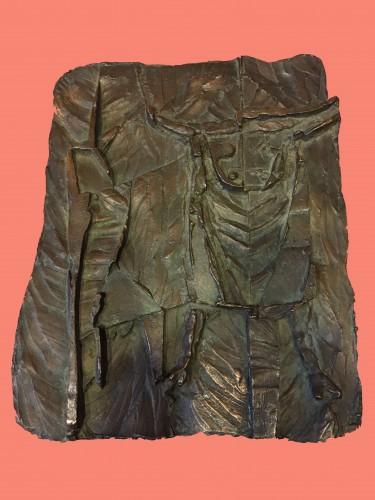 Bullfighting scene, - Karel Hladik (1912-1967) - Sculpture Style
