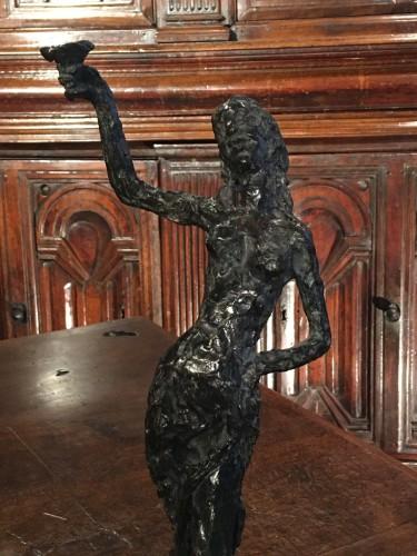 Bacchante - Edmond Moirignot (1913-2002) - Sculpture Style