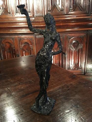 Sculpture  - Bacchante - Edmond Moirignot (1913-2002)