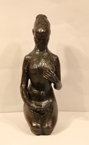 Woman on her knees, - Hélène Guastalla  (1903-1983) - 50