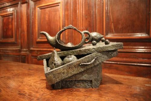 Sculpture  - Ouverture - Alex Berdal (France, 1945)