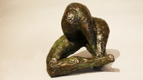 Woman at the toilet - Mandron - Sculpture Style