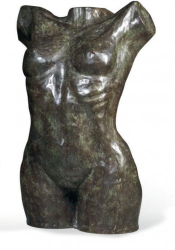 Female & Male Nude  - Hubert Yencesse (1900-1987) -