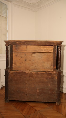 Furniture  - Burgundian Renaissance cabinet depicting the four evangelists