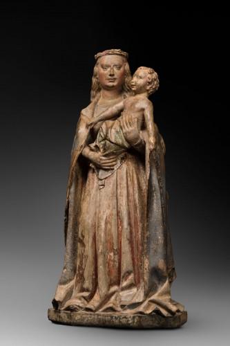 Sculpture  - Burgundian Virgin and Child