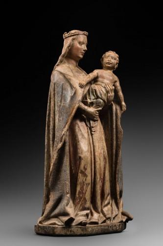 Burgundian Virgin and Child -