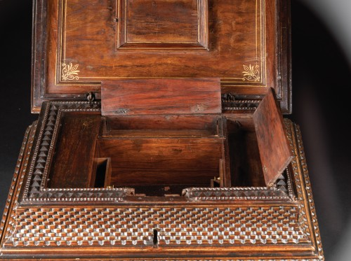 Furniture  - Important Renaissance italian jewellery chest