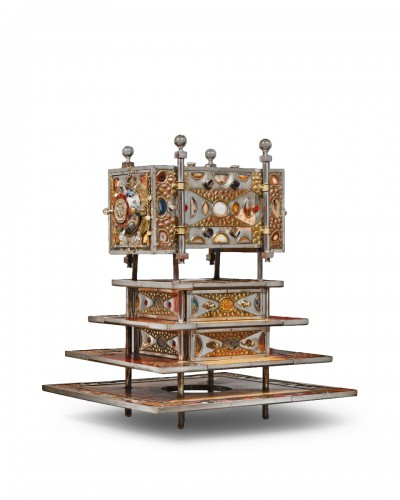Cabinet, creation of the silversmith Daniel Arnoul
